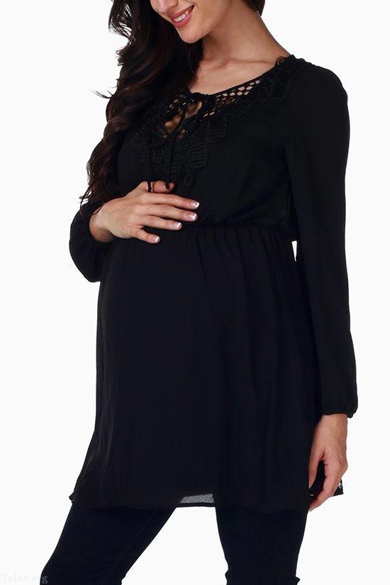 مدل لباس بارداری مجلسی 2020 طرح ترکی