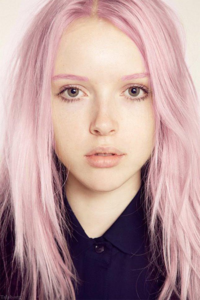 مدل رنگ موی جدید زنانه دخترانه 1400 - 2021