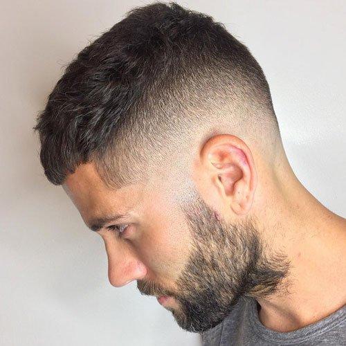 مدل مو و خط ریش شیک مردانه 97 - 2018