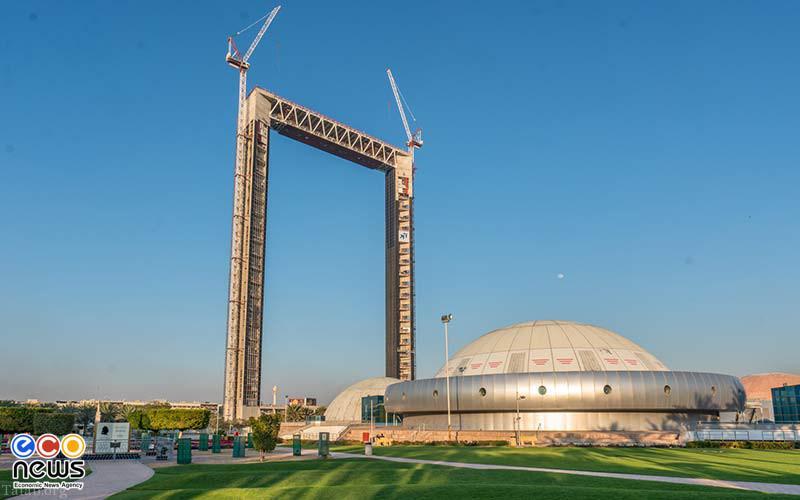 نگاهی به آسمان خراش جدید دبی به شکل قاب عکس