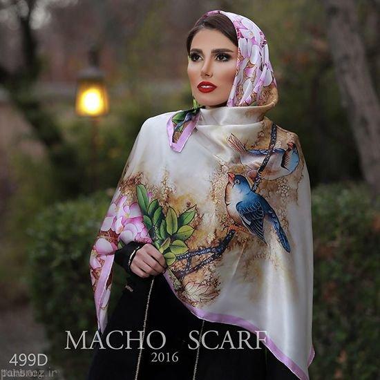 مدل روسری مجلسی در اینستاگرام