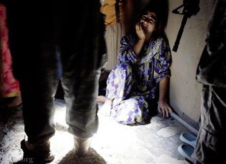 دختری که برده جنسی داعشی ها بود !