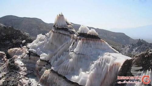 تصاویری دیدنی از گنبد نمکی یکی از رازهای جذاب بوشهر