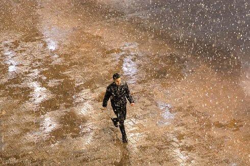 عکس های زیبای تهران در روزهای برفی - بارش برف در تهران