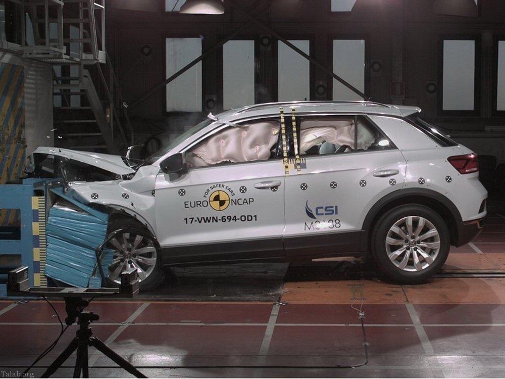 تست تصادف ایمن ترین خودروهای جهان (+تصاویر)