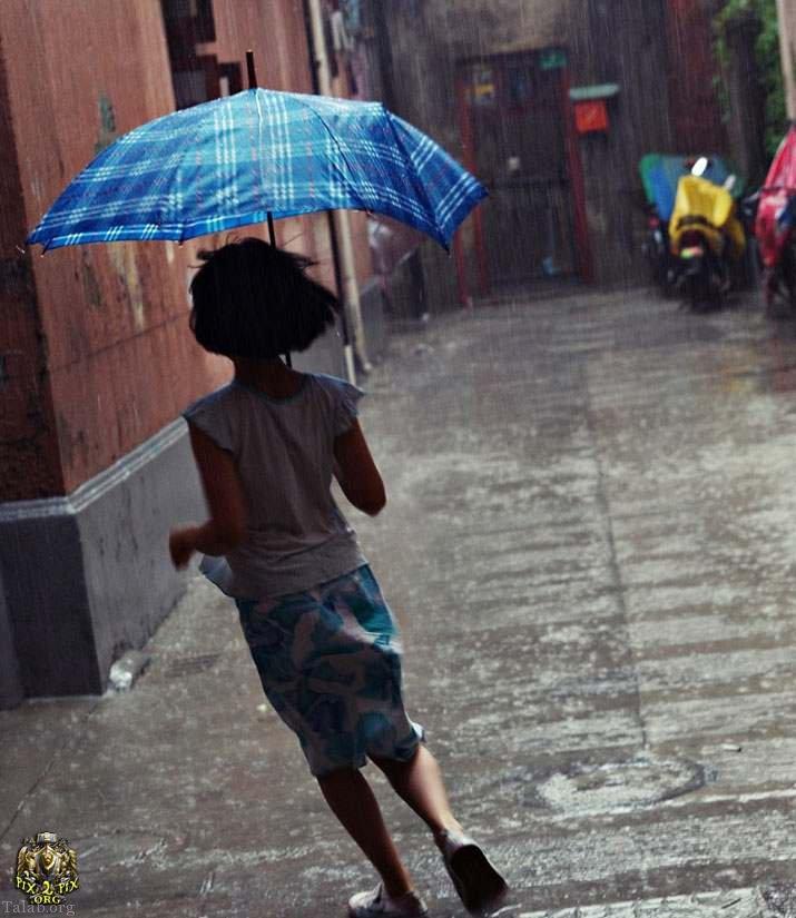 مجموعه عکس پروفایل باران ، عکس های بارش باران