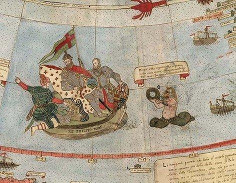 تصاویری از قدیمی ترین نقشه های به دست آمده از جهان