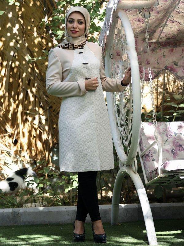جدیدترین مدل مانتو عید 97 (مانتو بهاره مجلسی شیک)