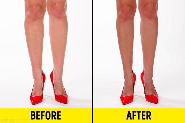 روش هایی برای لاغر به نظر رسیدن با استایل لاغری