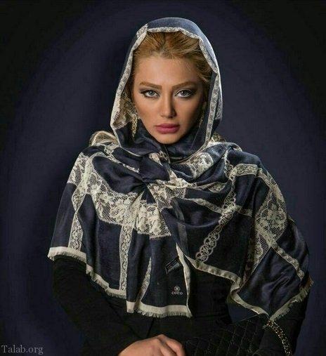 مدل شال روسری مجلسی شیک