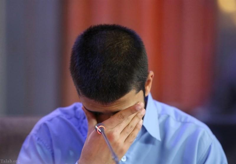 ملاقات پدر قاتل «ستایش قریشی» با پسرش قبل اعدام