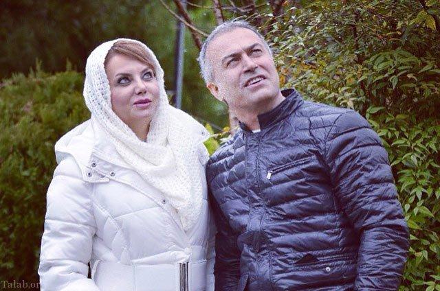 تصاویر دانیال حکیمی و همسرش زیبا هاشم زاده در اروپا