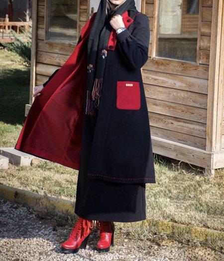پالتو و مانتو های جدید زمستانی زنانه و دخترانه شیک 99 - 2020