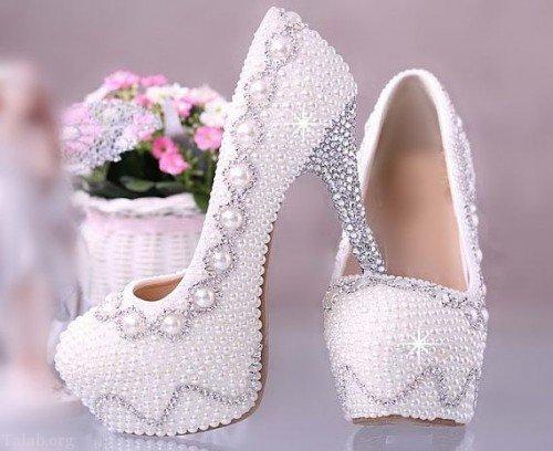 انتخاب کفش عروس مناسب | کفش عروس شیک
