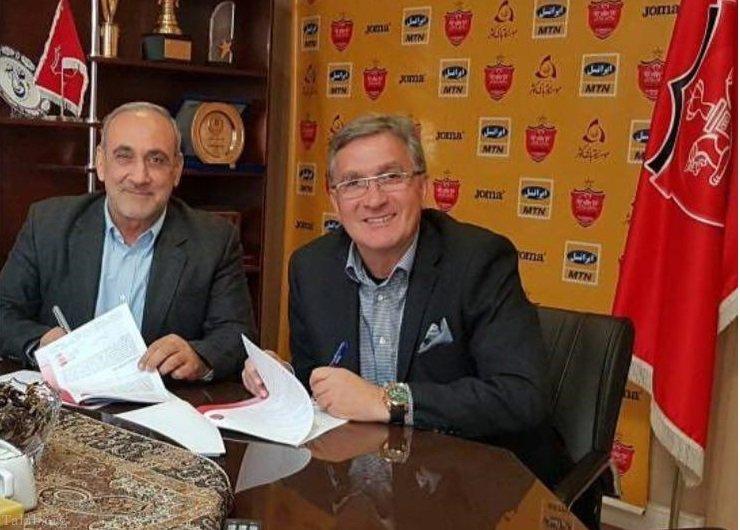 قرارداد برانکو 2 سال دیگر هم تمدید شد (+عکس)