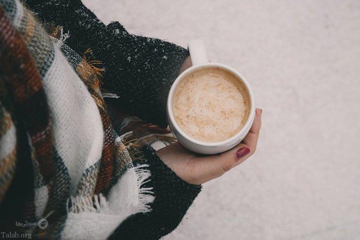 عکس نوشته عاشقانه روزهای برفی   عکس پروفایل برفی زمستانی
