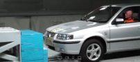 تست ایمنی سمند در سرعت 100 کیلومتر (فیلم)
