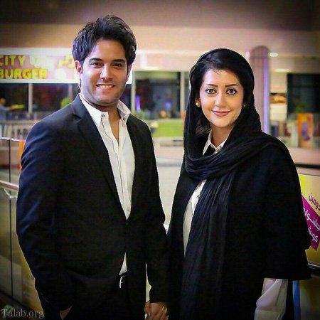 عکس های بازیگران ایرانی و همسرانش
