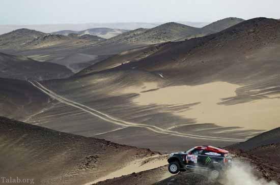 مسابقات پر هیجان رالی موتور و ماشین در ماسه 2018 (+تصاویر)