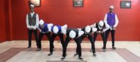 رقص هندی زیبا و هماهنگ با آهنگ شاد (کلیپ)