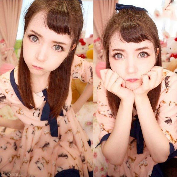 دختر باربی عروسکی زیبا و جذاب دنیای واقعی (عکس)