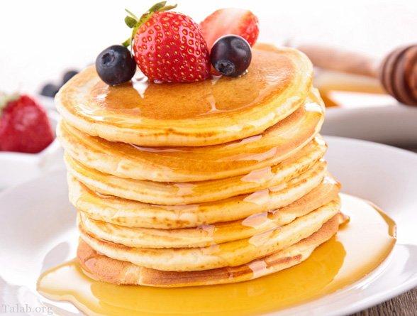 طرز تهیه 5 مدل پنکیک ساده و خوشمزه و مقوی برای صبحانه