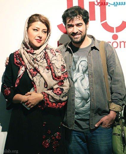 شهاب حسینی و عاشق شدن در سربازی ، شهاب حسینی و همسرش