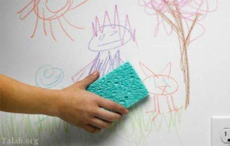 7 نوع آموزش برای تمیز کردن انواع لکه ها و کثیفی های دیوار گچی