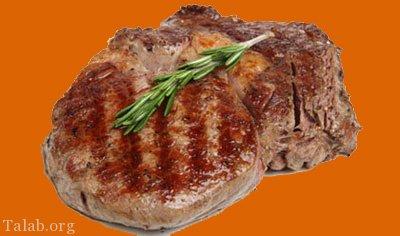 آموزش طرز تهیه استیک گوشت آمریکایی خوشمزه با سس انگور
