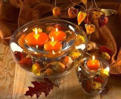 مدل های زیبا شمع مخصوص سال نو 1397 + آموزش تزیین شمع