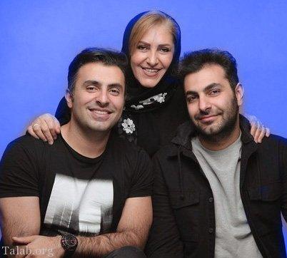 علیرضا طلیسچی و همسرش بیوگرافی و عکس علیرضا طلیسچی با خانواده
