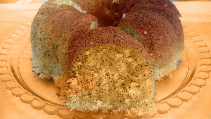 طرز تهیه آسان کیک خرفه زعفرانی خوشمزه در 10 دقیقه