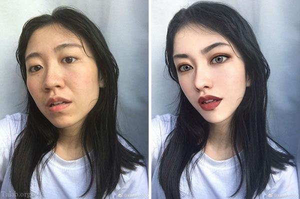 عکس پروفایل دخترونه و پسرانه بعد از فتوشاپ   فتوشاپ عکس پروفایل