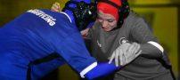 زنان کشتی گیر | عکس های تمرین تیم ملی کشتی زنان ایران