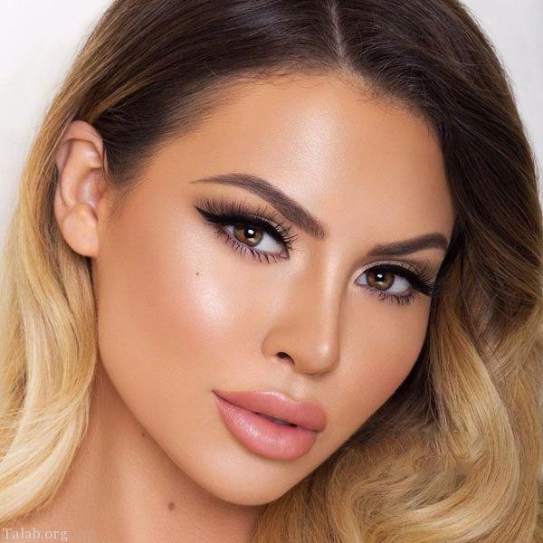 مدل های آرایش صورت و مدل میکاپ صورت جدید 98 - 2019