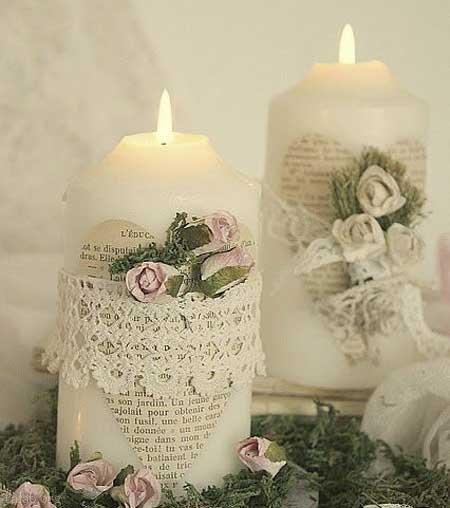 مدل های زیبا شمع مخصوص سال نو 1399 + آموزش تزیین شمع