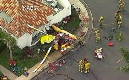 3 کشته بدلیل سقوط وحشتناک هلیکوپتر در آمریکا (عکس)