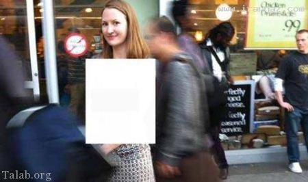 عکس های زن لخت و بدون لباس در خیابان های آمریکا