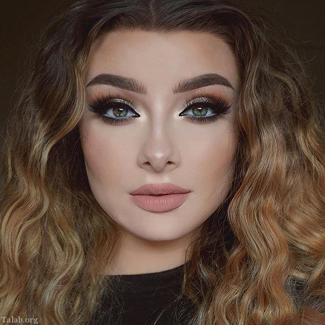 مدل های آرایش صورت و مدل میکاپ صورت جدید 97 - 2018
