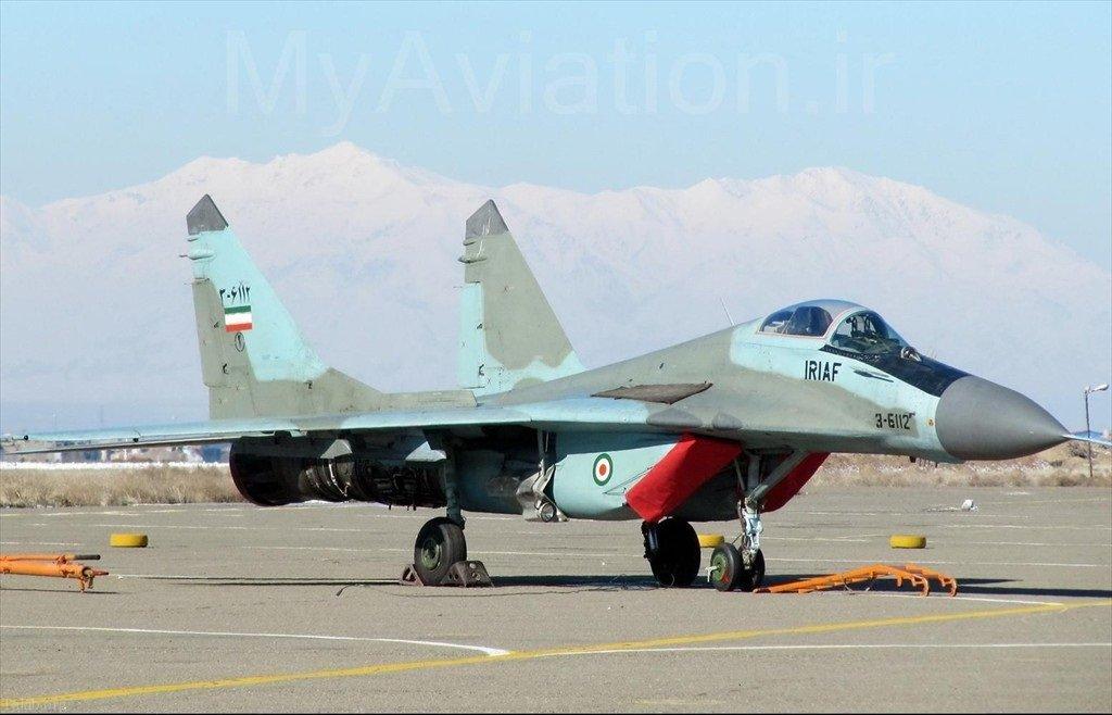 مقایسه توان نظامی نیروی هوایی ایران + قدرت نظامی ایران