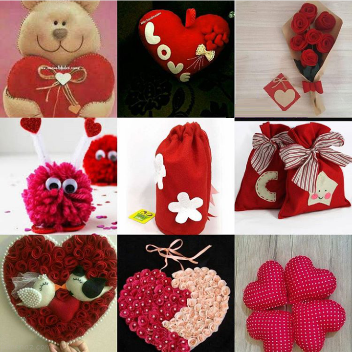 انواع مدل کادوهای قلبی عاشقانه 97 -2018 + مدل عروسک خرسی