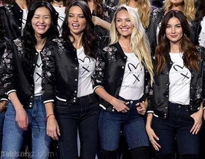 گفتگو کوتاه با دختران مدلینگ مشهور در جهان + تصاویر