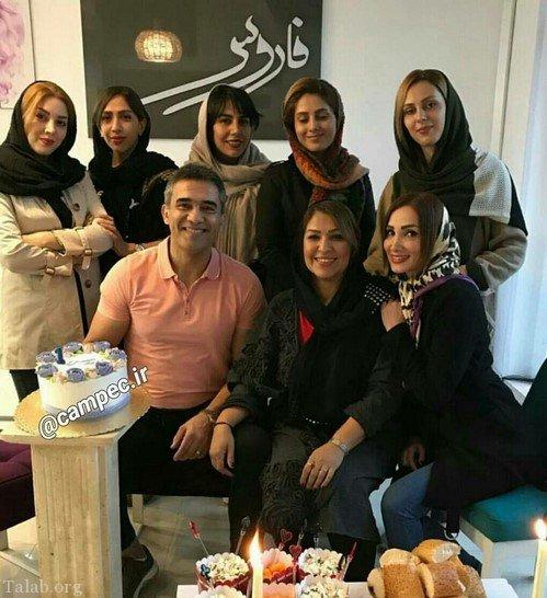 عکس های بازیگران با همسرانشان در حال آماده شدن برای عید سال 97