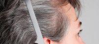 خلاص شدن از شر موهای سفید + 7 درمان برای سفیدی مو به همراه علت سفیدی مو