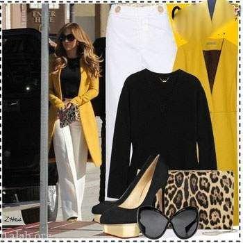ست لباس زنانه برای عید 99 به سبک جنیفر لوپز + مدل مانتو بهاره 99