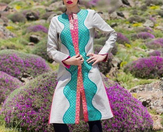 جدیدترین مدل مانتوهای بهاری 97 | مدل مانتو بهاری زنانه بلند