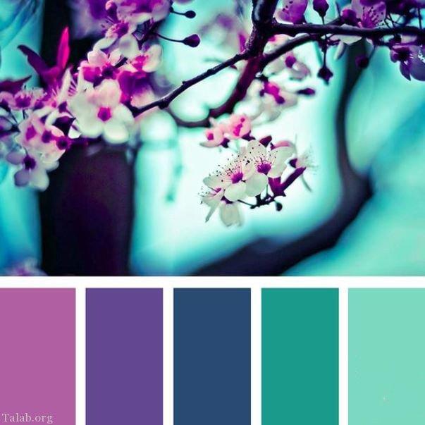 رنگ سال 97 | نکات مهم برای ست کردن رنگ بنفش سال 97