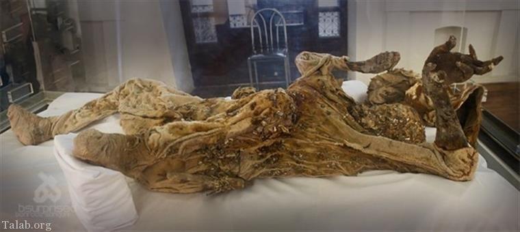 کشف جسد مومیایی مرد نمکی جدید از معدن نمک زنجان (عکس)