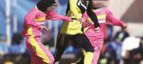 ماجرای معصومه دختر فوتبالیست ایرانی که پسر از آب درآمد !