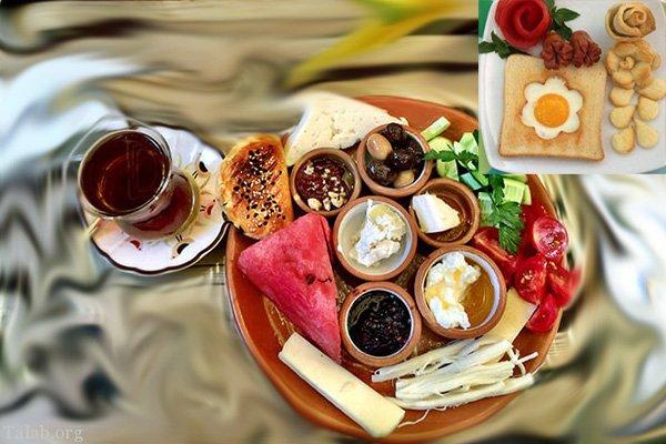 انتخاب یک صبحانه سریع و خوشمزه + 8 اتفاق جالب با خوردن صبحانه
